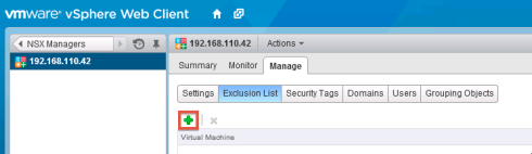 nsx-exclusion